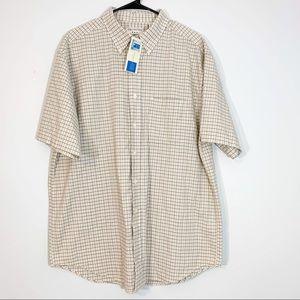 Covington | Searsucker Button Dwn Short Sleeve Top